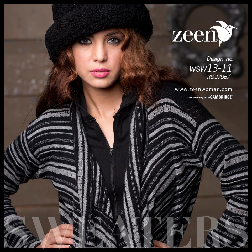 Zeen Cambrige Latest Winter Sweaters Designs & Hoodies Collection for Women 2014-2015 (4)