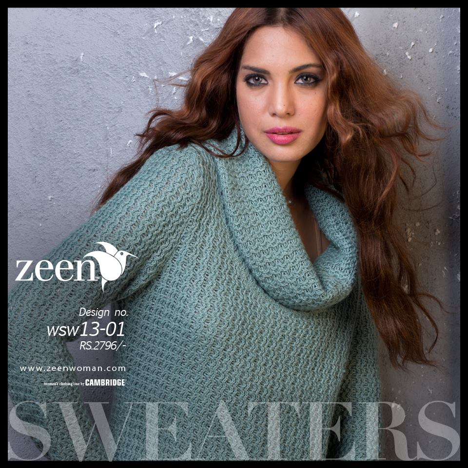 Zeen Cambrige Latest Winter Sweaters Designs & Hoodies Collection for Women 2014-2015 (6)
