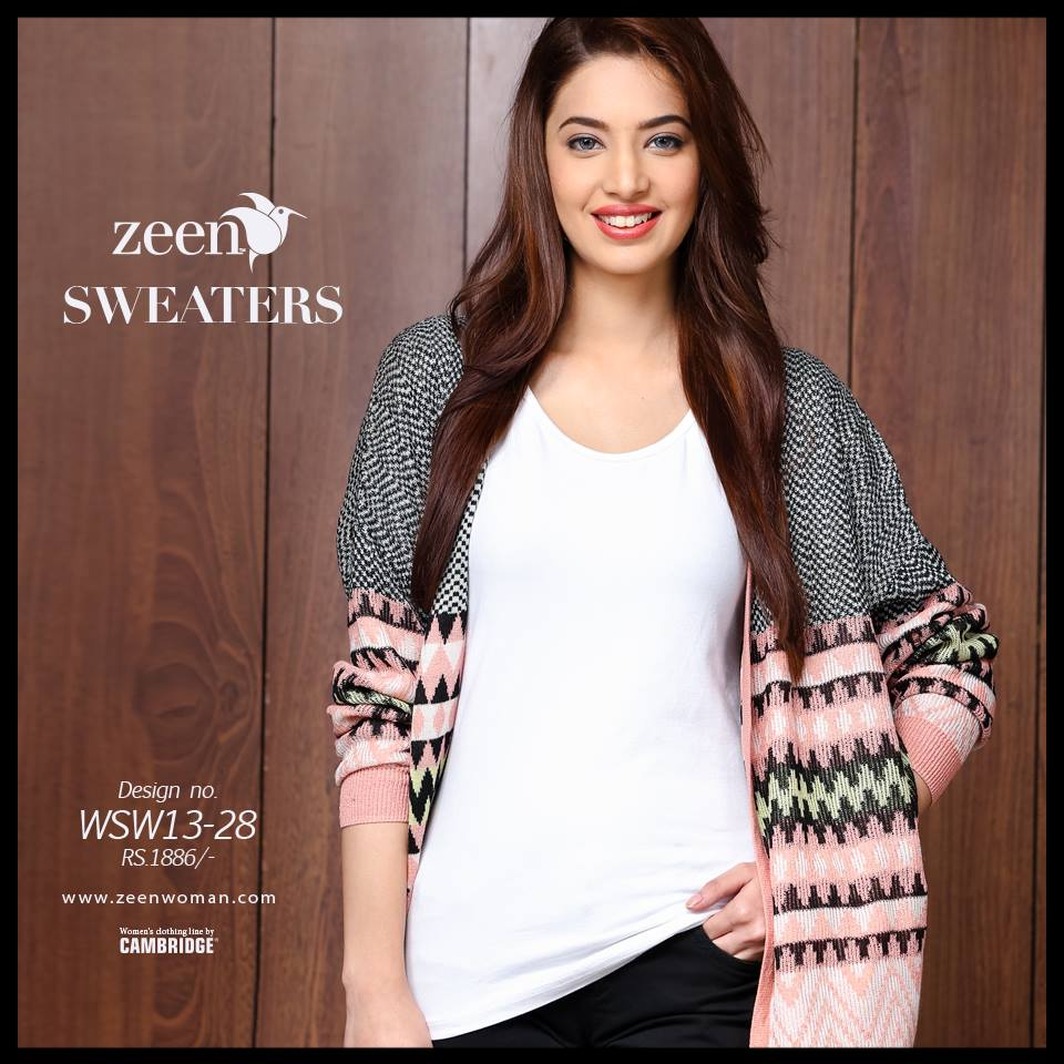 Zeen Cambrige Latest Winter Sweaters Designs & Hoodies Collection for Women 2014-2015 (7)