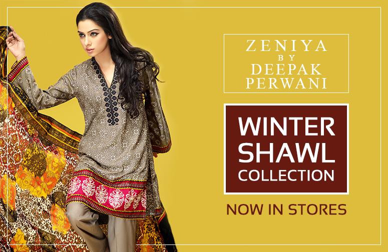 Zeniya Av Deepak Perwani Siste Vinter Sjal Kjoler Samling for Kvinner 2014-2015 (14)