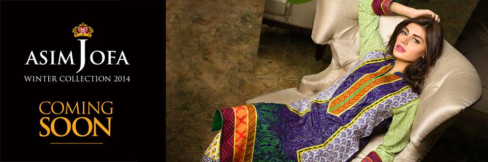 Asim Jofa Latest Winter Embroidered Dresses Collection for Women 2014-2015 (20)