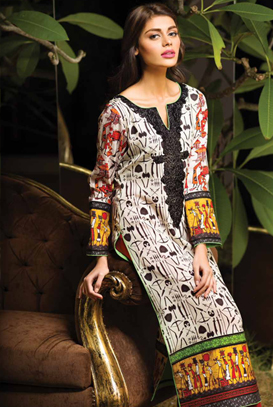 Asim Jofa Latest Winter Embroidered Dresses Collection for Women 2014-2015 (30)