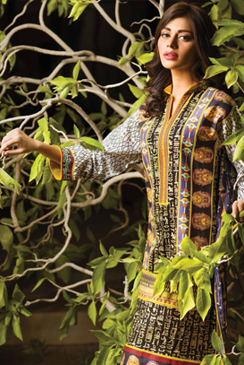 Asim Jofa Latest Winter Embroidered Dresses Collection for Women 2014-2015 (4)
