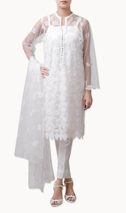 Bareeze Latest Winter Trendy Embroidered Dress Designs Classic Collection 2014-2015 (15)
