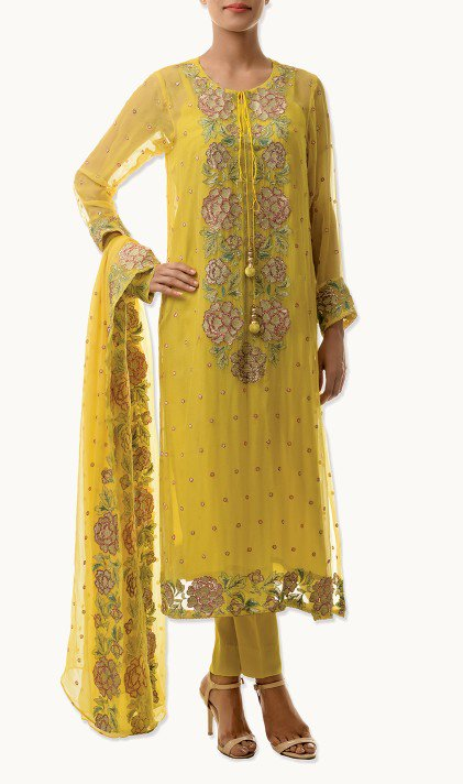 Bareeze Latest Winter Trendy Embroidered Dress Designs Classic Collection 2014-2015 (38)