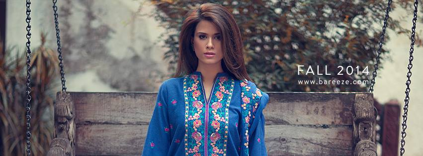 Bareeze Trendy Embroidered Dresses Classic Winter Collection 2019