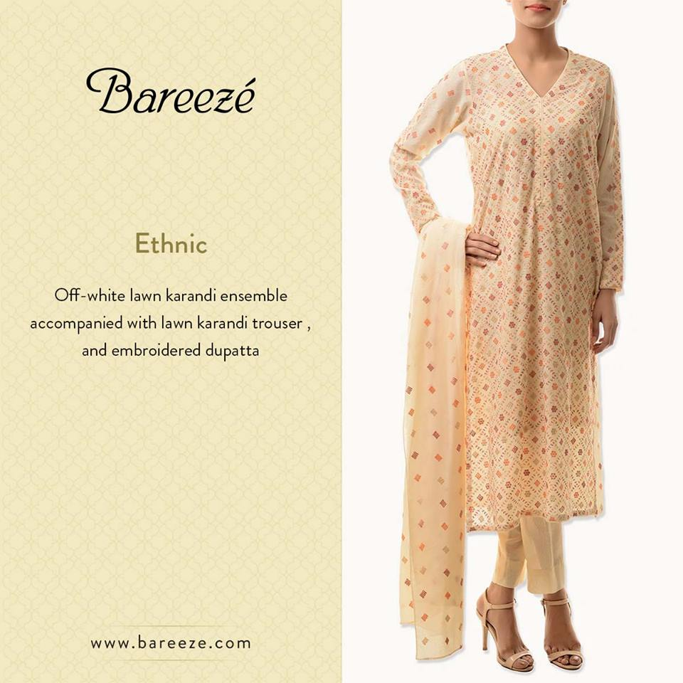 Bareeze Latest Winter Trendy Embroidered Dress Designs Classic Collection 2014-2015 (5)