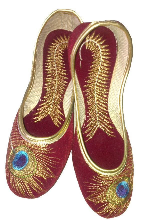 Beautiful Punjabi Khussa Shoes Trends in Asia - Latest Designs  (13)