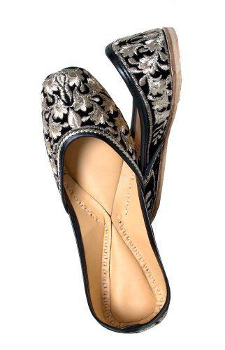Beautiful Punjabi Khussa Shoes Trends in Asia - Latest Designs  (14)