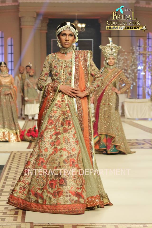 Fahad Husayn Bridal Wedding Dresses Collection 2015 at TBCW 2014-2015 (1)