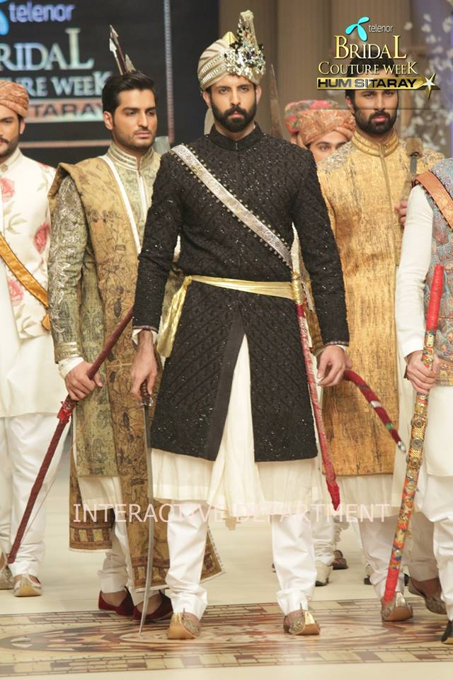 Fahad Husayn Bridal Wedding Dresses Collection 2015 at TBCW 2014-2015 (10)