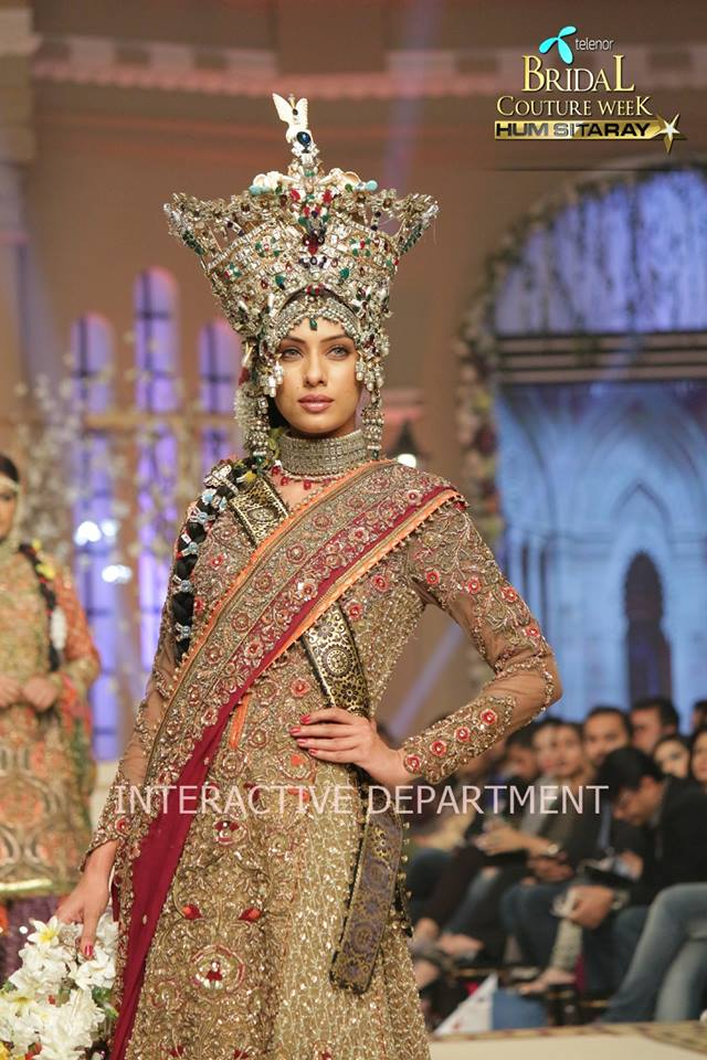 Fahad Husayn Bridal Wedding Dresses Collection 2015 at TBCW 2014-2015 (11)