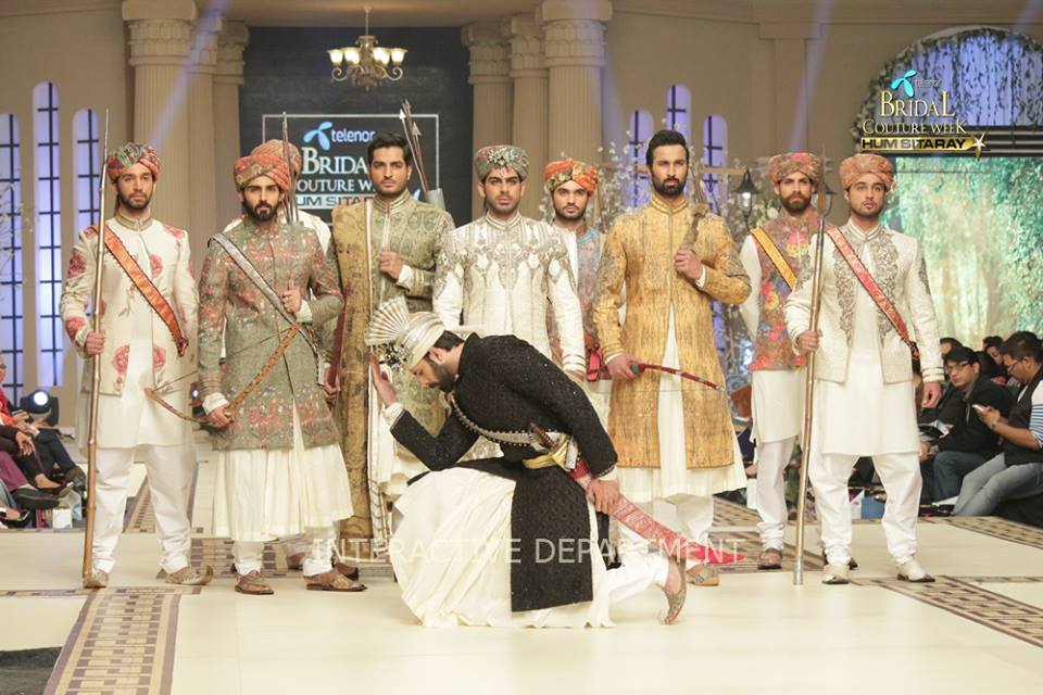 Fahad Husayn Bridal Wedding Dresses Collection 2015 at TBCW 2014-2015 (13)