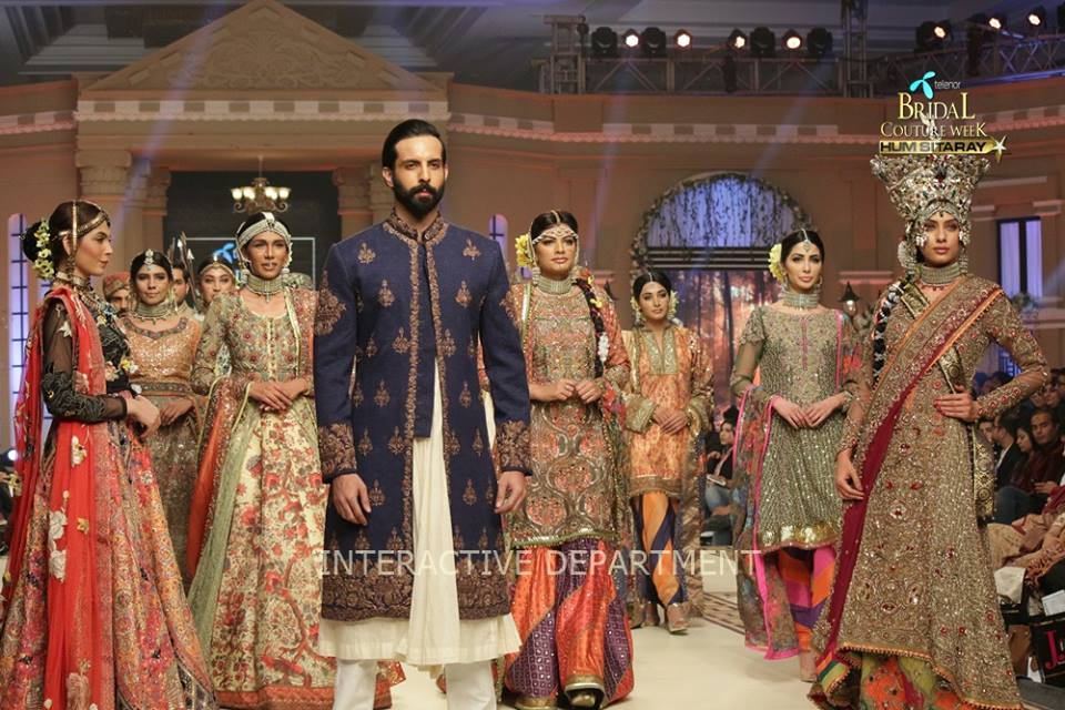 Fahad Hussayn Bridal Wedding Dresses Collection 2019