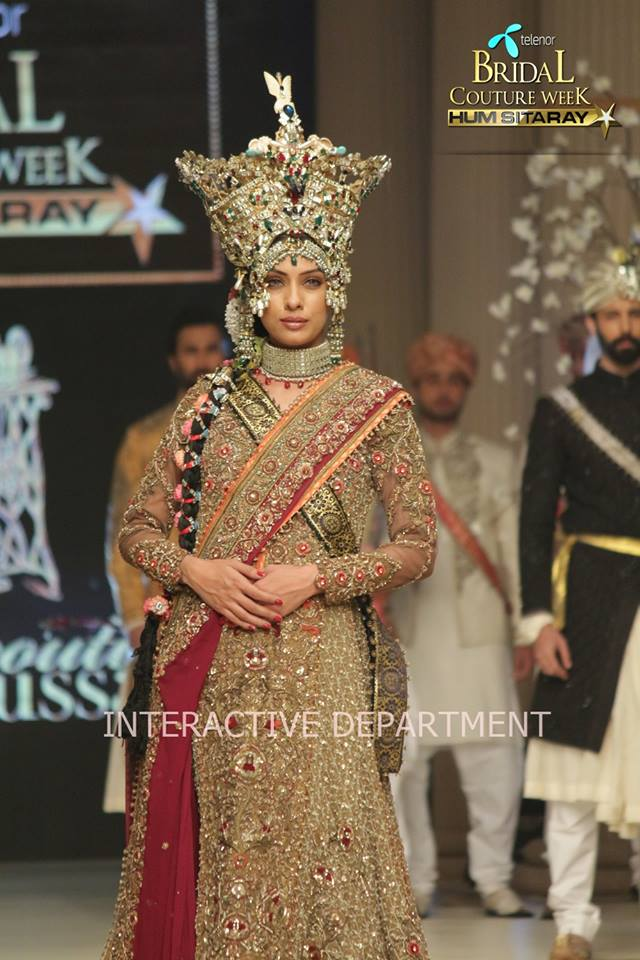 Fahad Husayn Bridal Wedding Dresses Collection 2015 at TBCW 2014-2015 (23)