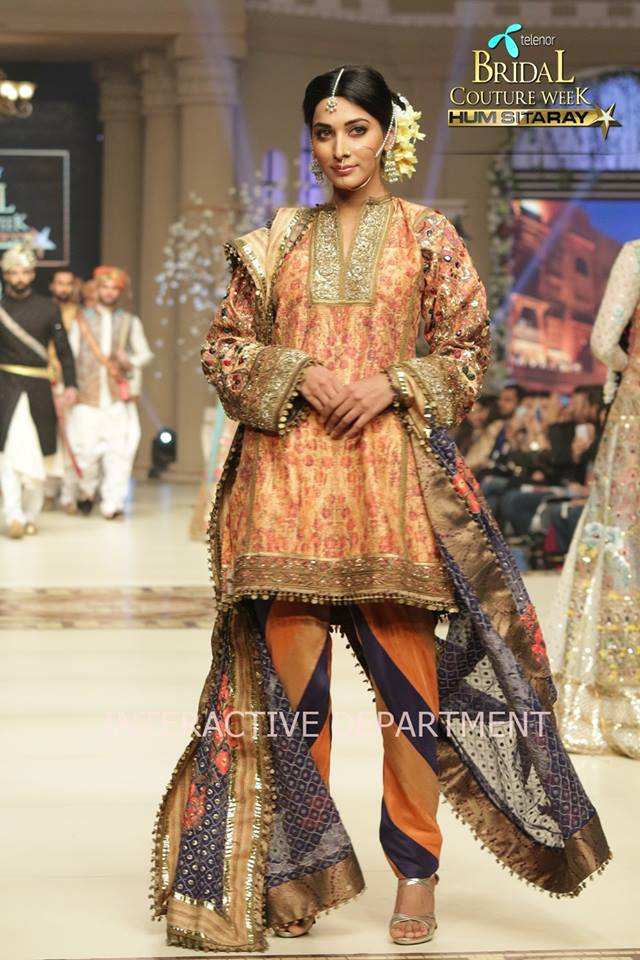 Fahad Husayn Bridal Wedding Dresses Collection 2015 at TBCW 2014-2015 (9)
