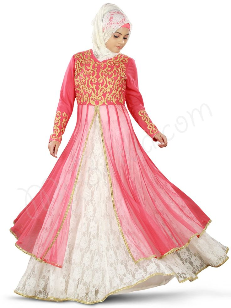 Latest Indian & Asian Fancy Umbrella Frocks Designs Collection For Girls 2015-2016 (1)