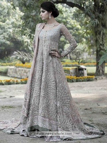 Latest Styles & Designs of Bridal Walima Dresses Collection 2015-2016 (11)