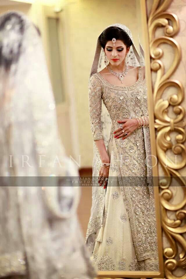 Latest Styles & Designs of Bridal Walima Dresses Collection 2015-2016 (16)