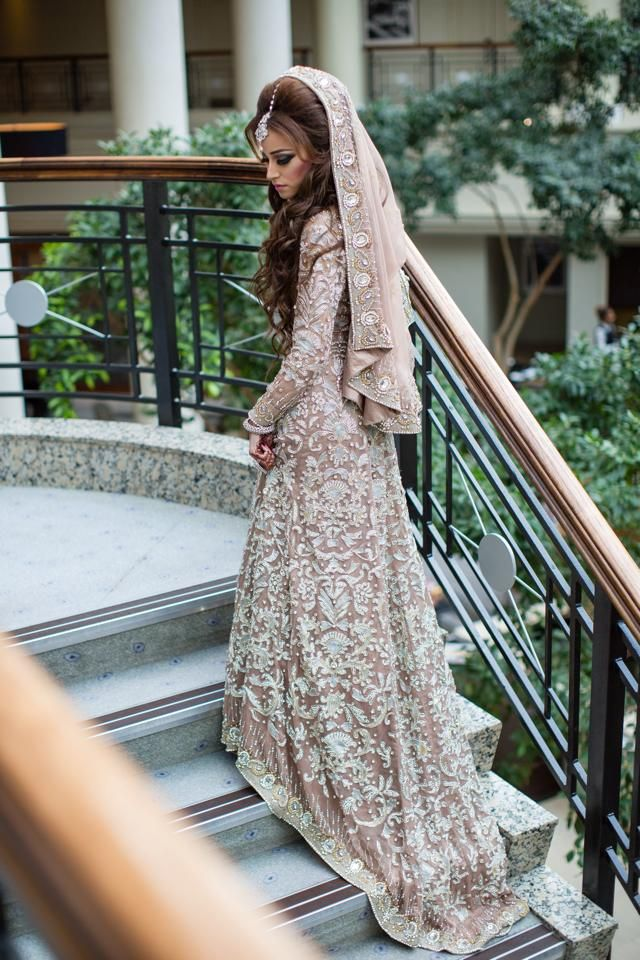 Latest Styles & Designs of Bridal Walima Dresses Collection 2015-2016 (17)