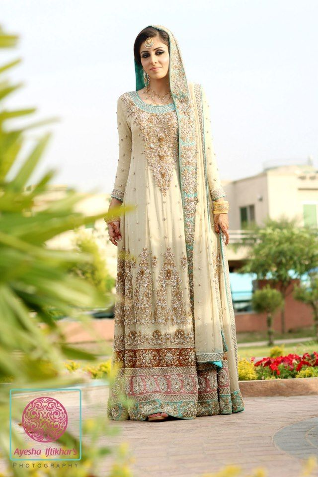 Latest Styles & Designs of Bridal Walima Dresses Collection 2015-2016 (18)