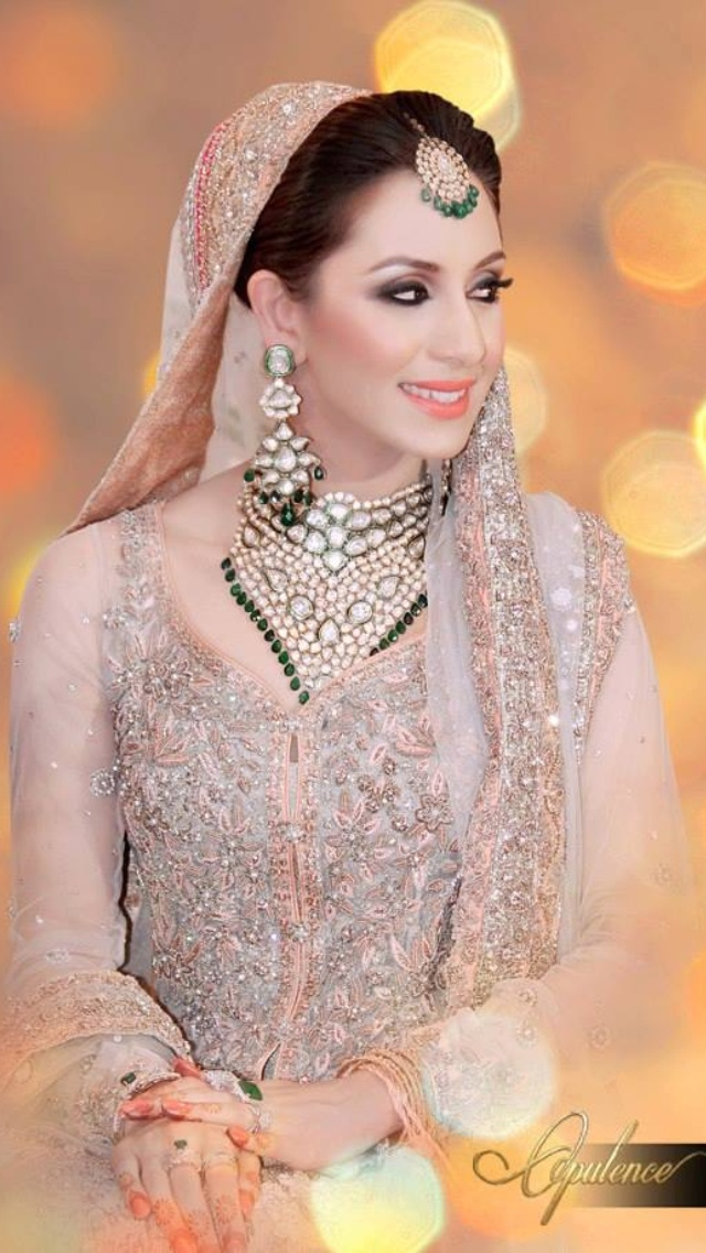 118ae2aa2c ... Latest Styles & Designs of Bridal Walima Dresses Collection 2015-2016  ...