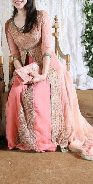 Latest Styles & Designs of Bridal Walima Dresses Collection 2015-2016 (20)