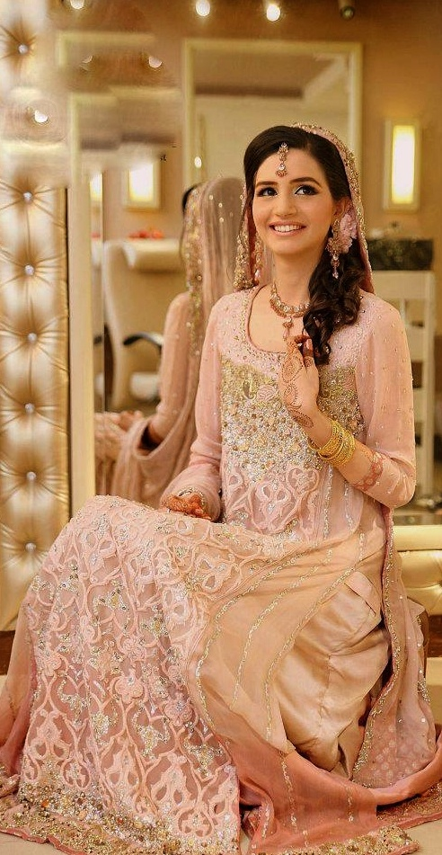 Latest Styles & Designs of Bridal Walima Dresses Collection 2015-2016 (22)