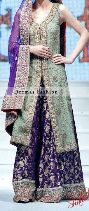 Latest Styles & Designs of Bridal Walima Dresses Collection 2015-2016 (24)