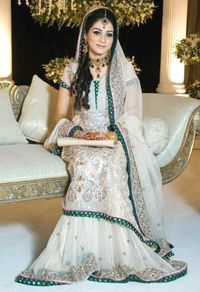 Latest Styles & Designs of Bridal Walima Dresses Collection 2015-2016 (33)