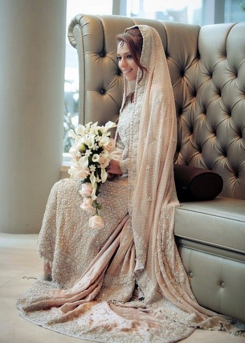 Latest Styles & Designs of Bridal Walima Dresses Collection 2015-2016 (34)
