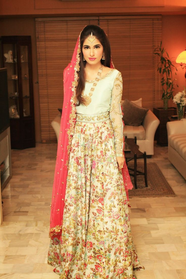 8fd6a1b6b2 Latest Styles & Designs of Bridal Walima Dresses Collection 2015-2016 ...