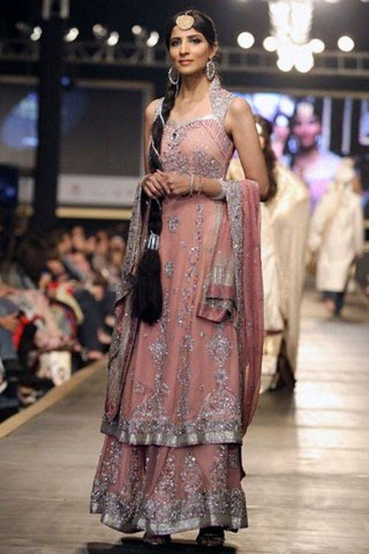 Latest Styles & Designs of Bridal Walima Dresses Collection 2015-2016 (7)