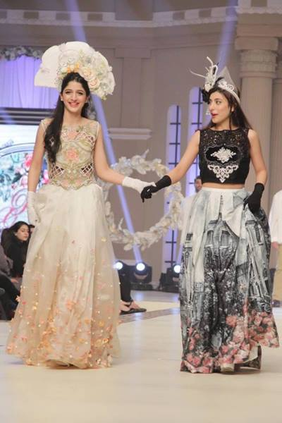 Maria B. La Roseraie (The Rose Garden) Modern Dresses Collection 2015 at Telenor Bridal Couture Week 2014-2015 (1)