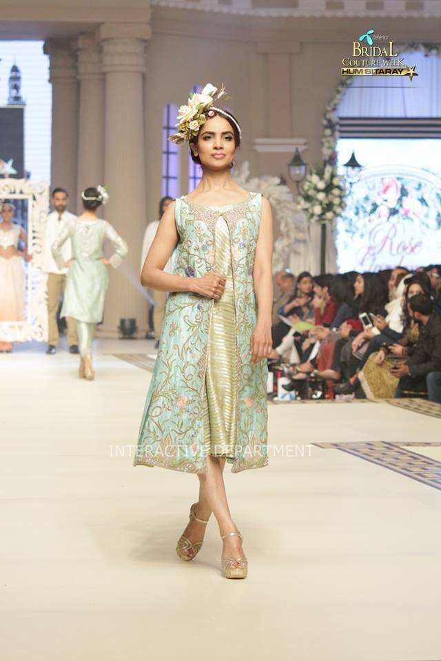 Maria B. La Roseraie (The Rose Garden) Modern Dresses Collection 2015 at Telenor Bridal Couture Week 2014-2015 (13)