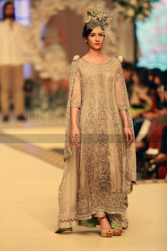 Maria B. La Roseraie (The Rose Garden) Modern Dresses Collection 2015 at Telenor Bridal Couture Week 2014-2015 (18)