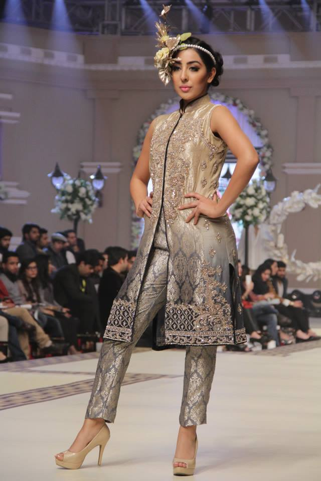 Maria B. La Roseraie (The Rose Garden) Modern Dresses Collection 2015 at Telenor Bridal Couture Week 2014-2015 (22)