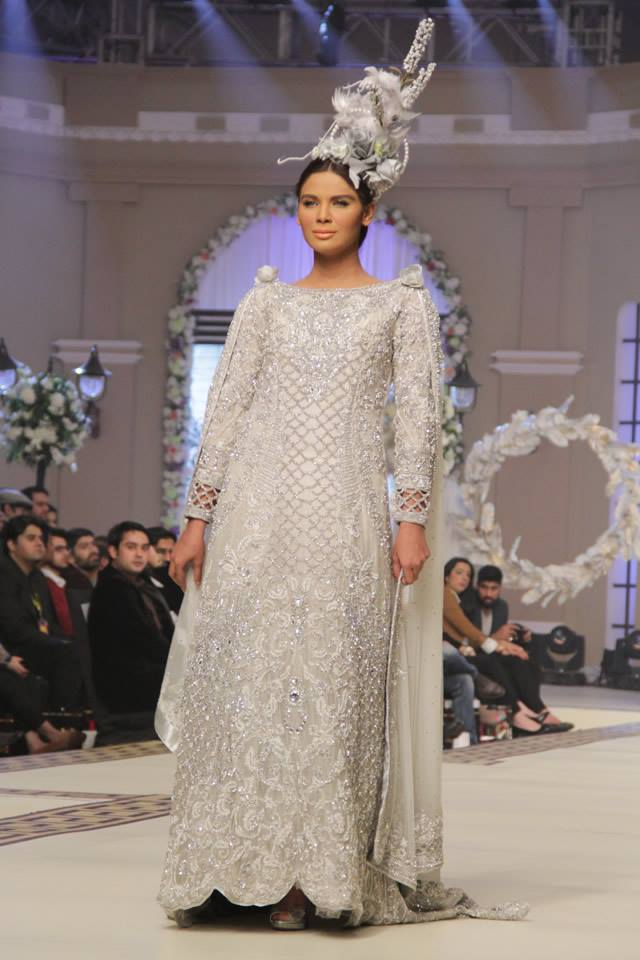 Maria B. La Roseraie (The Rose Garden) Modern Dresses Collection 2015 at Telenor Bridal Couture Week 2014-2015 (3)