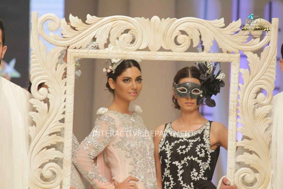 Maria B. La Roseraie (The Rose Garden) Modern Dresses Collection 2015 at Telenor Bridal Couture Week 2014-2015 (5)