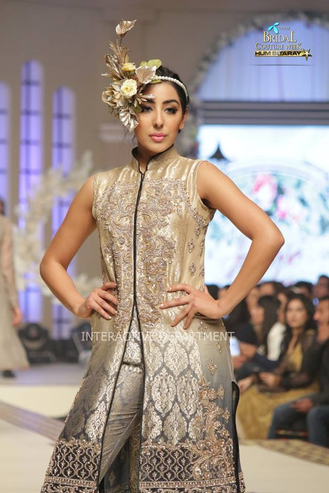 Maria B. La Roseraie (The Rose Garden) Modern Dresses Collection 2015 at Telenor Bridal Couture Week 2014-2015 (6)