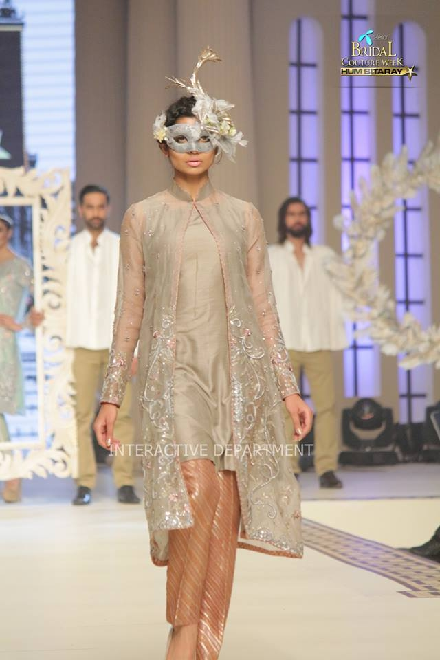 Maria B. La Roseraie (The Rose Garden) Modern Dresses Collection 2015 at Telenor Bridal Couture Week 2014-2015 (7)