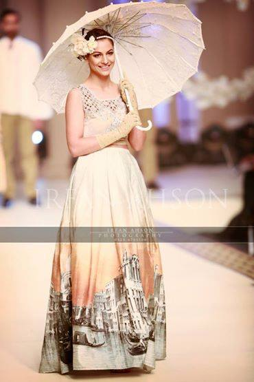 Maria B. La Roseraie (The Rose Garden) Modern Dresses Collection 2015 at Telenor Bridal Couture Week 2014-2015 (8)