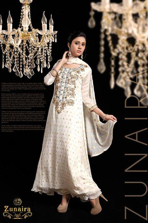Pakistani Party Wear Dresses by Zunaira Lounge Formal Dresses Collection 2015-16 for Women (1)