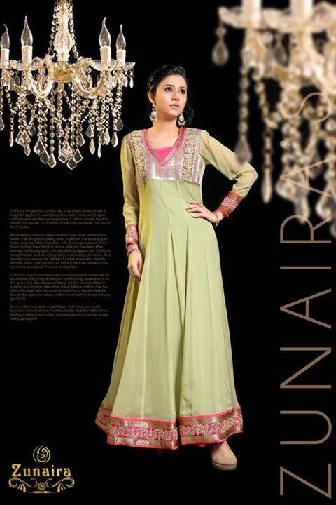 Pakistani Party Wear Dresses by Zunaira Lounge Formal Dresses Collection 2015-16 for Women (12)