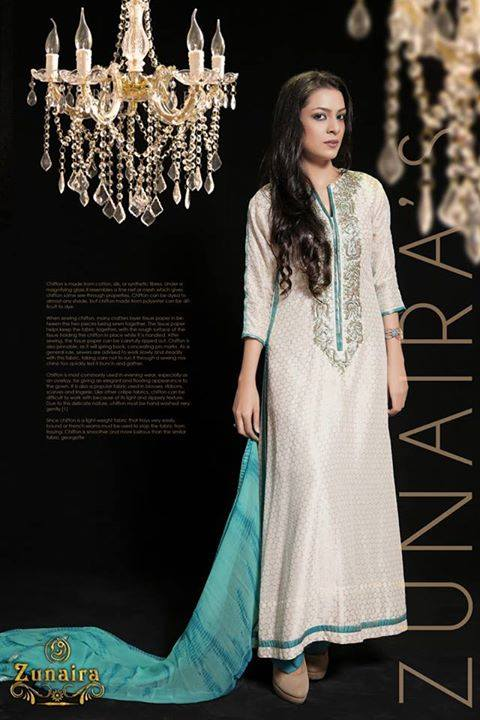 Pakistani Party Wear Dresses by Zunaira Lounge Formal Dresses Collection 2015-16 for Women (13)