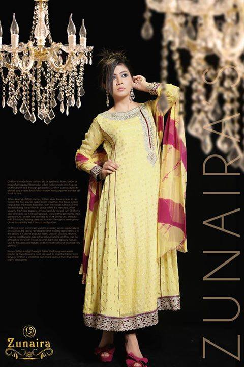 Pakistani Party Wear Dresses by Zunaira Lounge Formal Dresses Collection 2015-16 for Women (18)