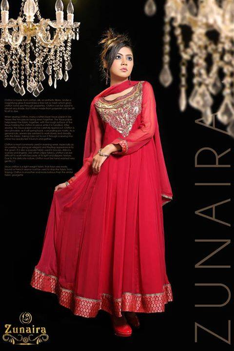 Pakistani Party Wear Dresses by Zunaira Lounge Formal Dresses Collection 2015-16 for Women (21)
