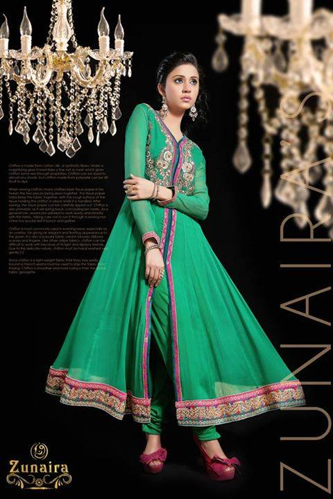 Pakistani Party Wear Dresses by Zunaira Lounge Formal Dresses Collection 2015-16 for Women (22)