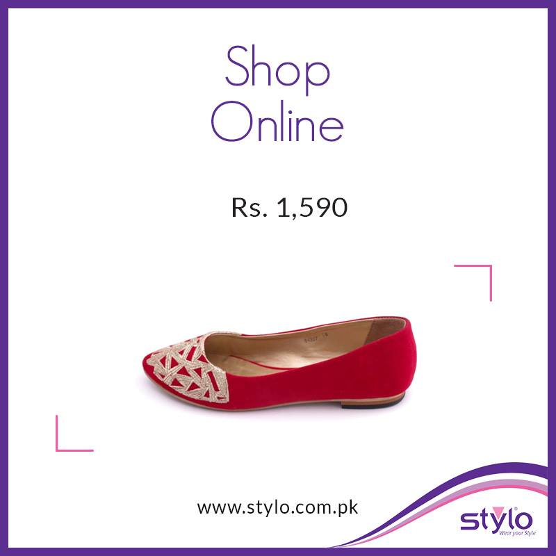 Stylo Shoes Latest Fall Winter Collection 2015 - Trendy Footwear For Women & Kids (1)
