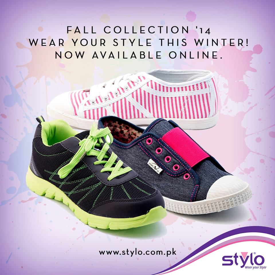 Stylo Shoes Latest Fall Winter Collection 2015 - Trendy Footwear For Women & Kids (12)